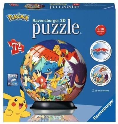 Pokémon - 72 Teile Puzzle Ball