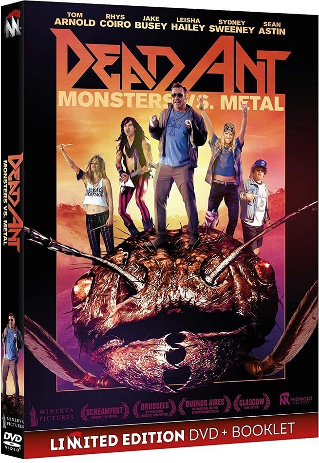 Dead Ant - Monsters vs Metal (2017) (Edizione Limitata)