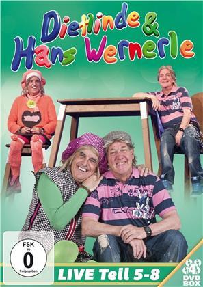 Dietlinde & Hans Wernerle - Live - Teil 5-8 (4 DVDs)