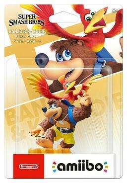 Amiibo - Banjo & Kazooie - Super Smash Bros