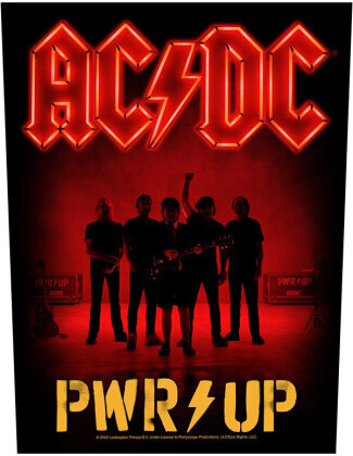 AC/DC - PWR Up Band Backpatch