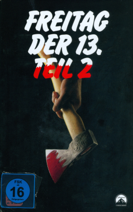 Freitag der 13. - Teil 2 (1981) (Grosse Hartbox, Limited Edition, Uncut, Blu-ray + DVD)