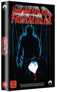 Freitag der 13. - Teil 3 - Und wieder ist Freitag der 13. (1982) (Grosse Hartbox, Limited Edition, Blu-ray + DVD)
