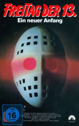 Freitag der 13. - Teil 5 - Ein neuer Anfang (1985) (Grosse Hartbox, Limited Edition, Uncut, Blu-ray + DVD)