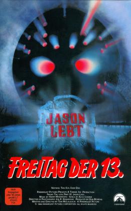 Freitag der 13. - Teil 6 - Jason lebt (1986) (Grosse Hartbox, Edizione Limitata, Uncut, Blu-ray + DVD)