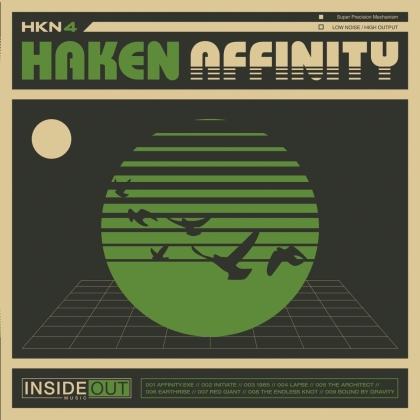 Haken - Affinity (2021 Reissue, inside Out, 3 LPs)