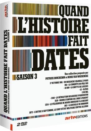 Quand l'histoire fait dates - Saison 3 (Arte Éditions, 2 DVDs)