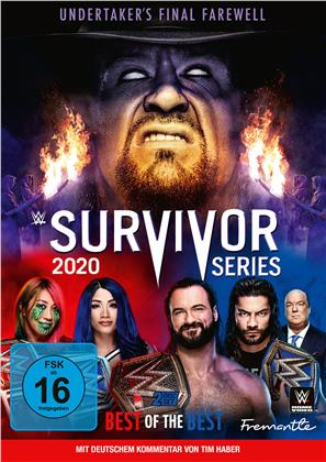 WWE: Survivor Series 2020 (2 DVDs)