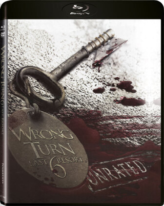 Wrong Turn 6 - Last Resort (2014) (Edizione Limitata, Uncut, Blu-ray + DVD)