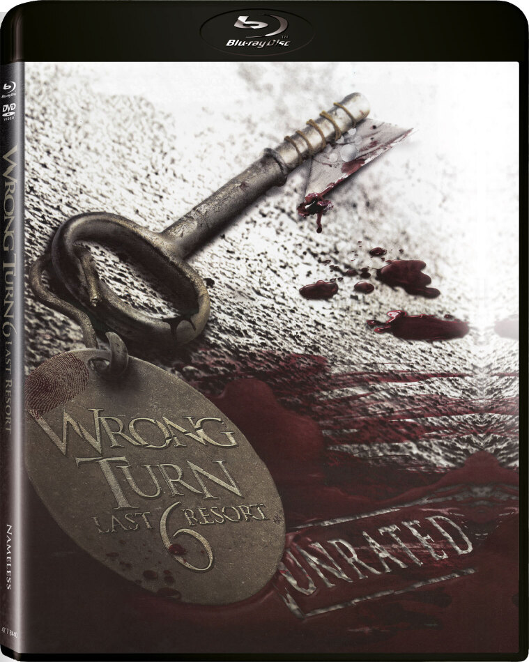Wrong Turn 6 - Last Resort (2014) (Limited Edition, Unrated, Blu-ray + DVD)