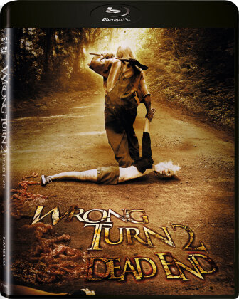 Wrong Turn 2 - Dead End (2007) (Limited Edition, Uncut, Unrated, Blu-ray + DVD)