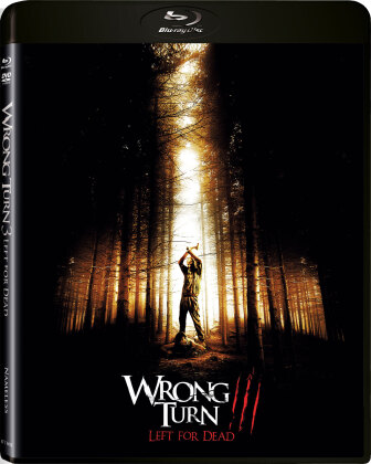 Wrong Turn 3 - Left for dead (2009) (Limited Edition, Uncut, Blu-ray + DVD)
