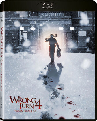 Wrong Turn 4 - Bloody Beginnings (2011) (Edizione Limitata, Uncut, Blu-ray + DVD)