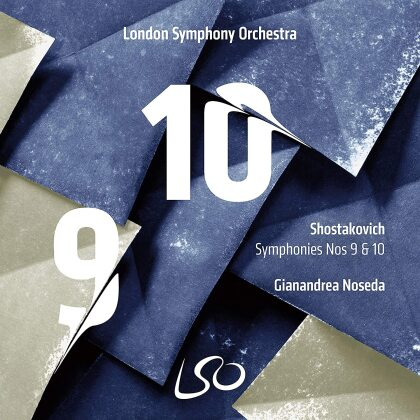 London Symphony Orchestra, Dimitri Schostakowitsch (1906-1975) & Gianandrea Noseda - Symphonies 9 & 10 (Hybrid SACD)