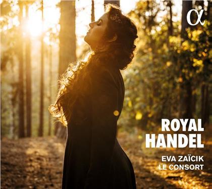 Georg Friedrich Händel (1685-1759), Eva Zaïcik & Le Consort - Royal Handel