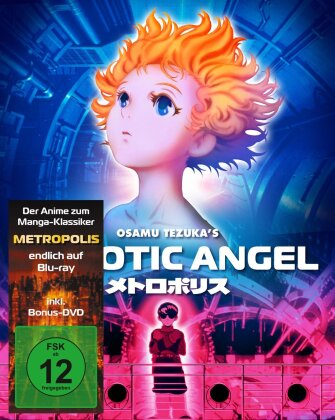Robotic Angel (2001) (Cover A, Limited Edition, Mediabook, Blu-ray + 2 DVDs)