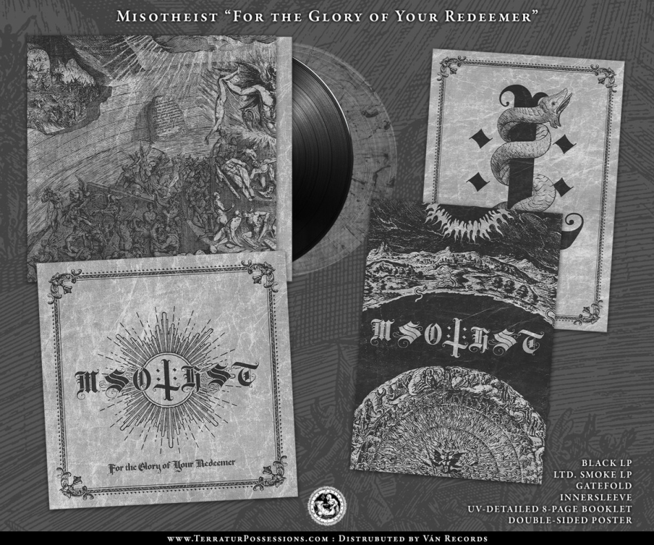 Misotheist - For The Glory Of Your Redeemer (Gatefold, Black Vinyl)