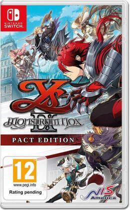 Ys IX: Monstrum Nox - (Pact Edition )