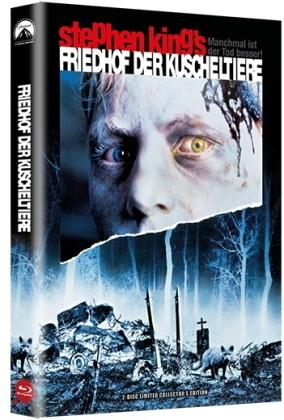 Friedhof der Kuscheltiere (1989) (Grosse Hartbox, + Poster, Limited Edition, Blu-ray + DVD)