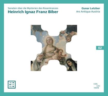 Ars Antiqua Austria, Heinrich Ignaz Franz von Biber (1644-1704) & Gunar Letzbor - Sonaten Ueber Die Mysterien Des Rosenkranzes