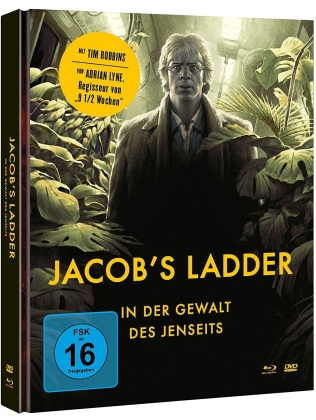Jacob's Ladder - In der Gewalt des Jenseits (1990) (Cover B, Limited Edition, Mediabook, Blu-ray + DVD)