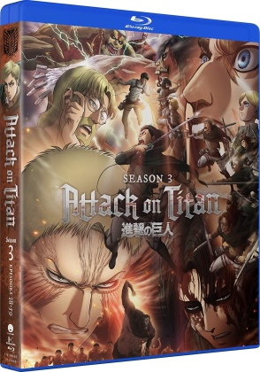 Attack On Titan - Season 3 (4 Blu-rays)