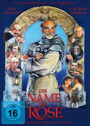 Der Name der Rose (1986) (Limited Edition, Mediabook, Blu-ray + DVD)
