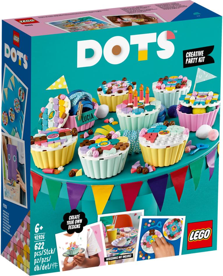 Cupcake Partyset - Lego Dots, 623 Teile,