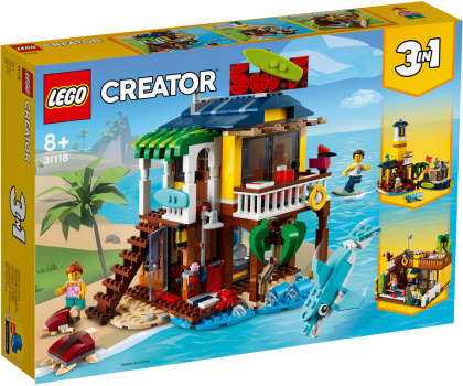 Surfer-Strandhaus - Lego Creator, 564 Teile,