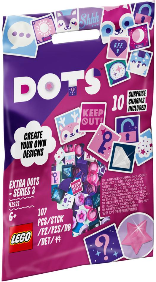 Ergänzungsset Geheimnisse - Lego Dots, 107 Teile,