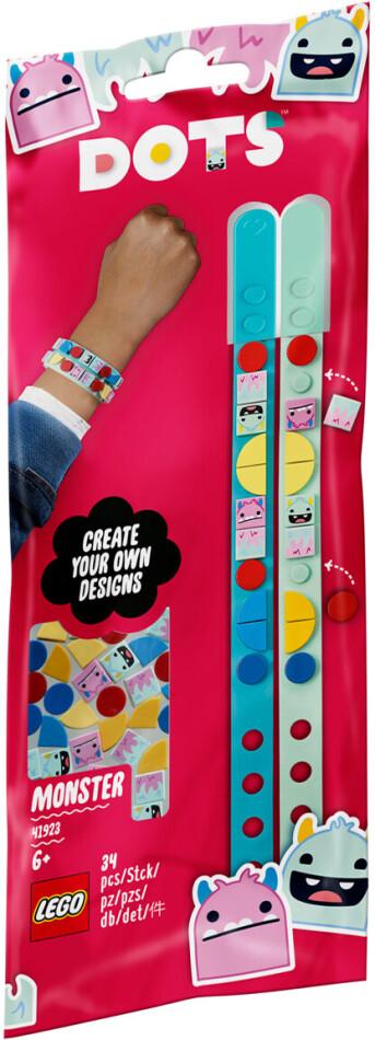 Monster Freundschafts- - Armbänder, Lego Dots,