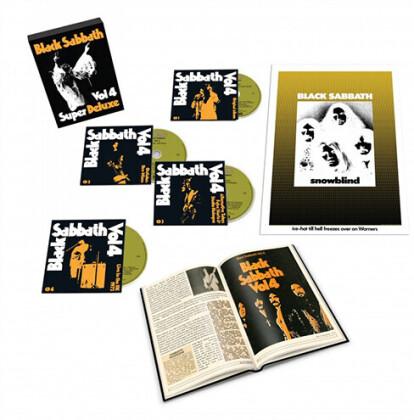 Black Sabbath - Vol. 4 (2021 Reissue, Rhino, Deluxe Edition, 4 CDs)