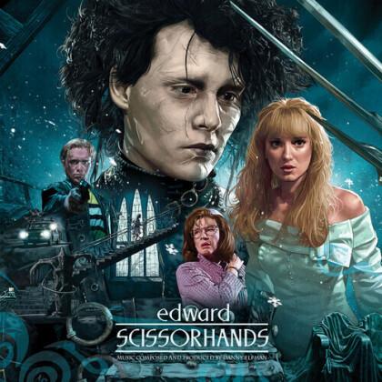 Danny Elfman - Edward Scissorhands - OST (Waxwork, 30th Anniversary Edition, Deluxe Edition, Blue Vinyl, LP)