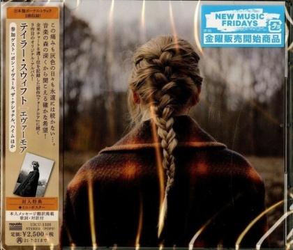 Taylor Swift - Evermore (Bonustrack, Japan Edition)