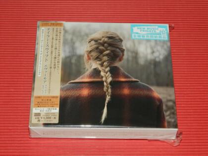 Taylor Swift - Evermore (Limited, Japan Edition, Edizione Limitata, CD + DVD)