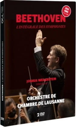 Orchestre de Chambre de Lausanne - Beethoven - L'intégrtale des Symphonies (2 DVDs)