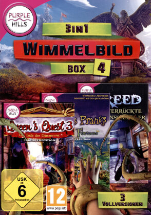 3 in 1 Wimmelbild Box 4