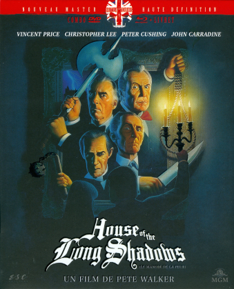 House of the Long Shadows - Le manoir de la peur (1983) (Nouveau Master Haute Definition, British Terrors, Schuber, Digipack, Blu-ray + DVD)