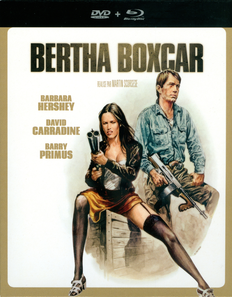 Bertha Boxcar (1972) (Schuber, Digibook, Blu-ray + DVD)