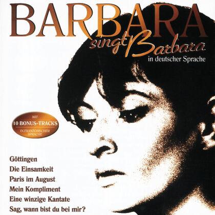 Barbara - Barbara Singt Barbara In Deuts