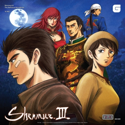 Ys Net - Shenmue III - The Definitive Soundtrack: Complete - OST (6 CDs)