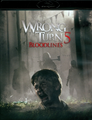Wrong Turn 5 - Bloodlines (2012) (Limited Edition, Uncut, Blu-ray + DVD)