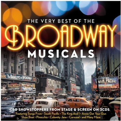 Very Best Of The Broadway Musicals (3 CDs)