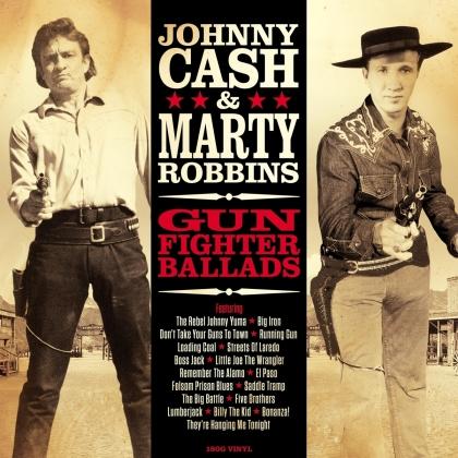 Marty Robb & Johnny Cash - Gunfighter Ballads (No Frills, LP)