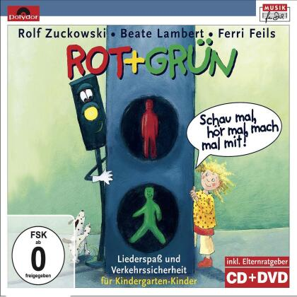 Rolf Zuckowski, Beate Lambert & Ferri Feils - Rot + Grun - Schau Mal, Hor Mal, Mach Mal Mit! (CD + DVD)