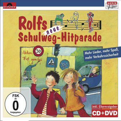 Rolf Zuckowski - Rolfs Neue Schulweg-Hitparade (CD + DVD)