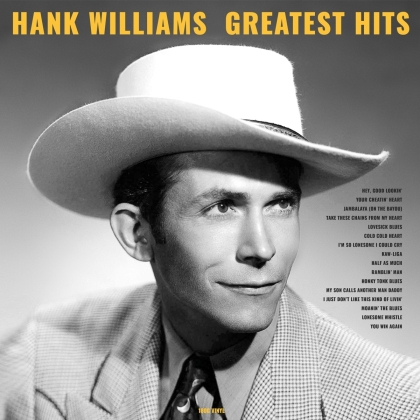 Hank Williams - Greatest Hits (2021 Reissue, No Frills, LP)