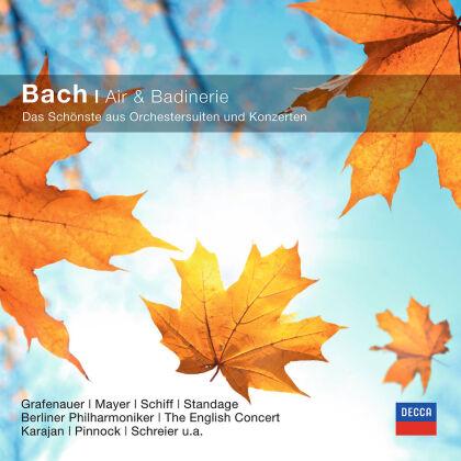 Grafenauer, Schiff, COE, EC, Karajan, … - Bach - Air Und Badinerie - Das Schönste aus - Orchestersuiten und Konzerten