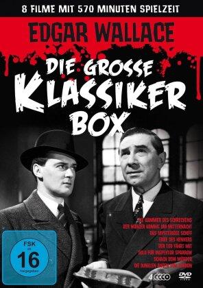 Edgar Wallace - Die grosse Klassiker Box (4 DVDs)