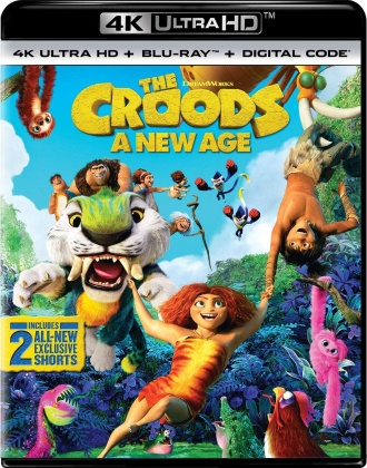 The Croods 2 - A New Age (2020) (4K Ultra HD + Blu-ray)